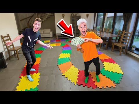 THE BIGGEST FLOOR GAME IN THE WORLD ! THE WINNER GETS $10,000 !