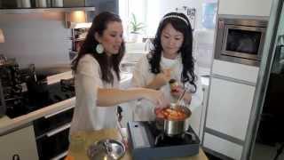 Korean Cooking - Soondubu Chigae (soft Tofu Soup)