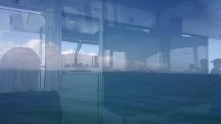 Ferry Ride to Magnetic Island Townsville Queensland Australia