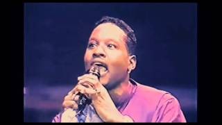 Johnny Gill - There U Go ( Live)