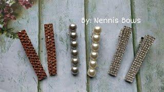 DIY BROCHES/PINZAS EN TENDENCIA   TRENDING HAIR CLIPS