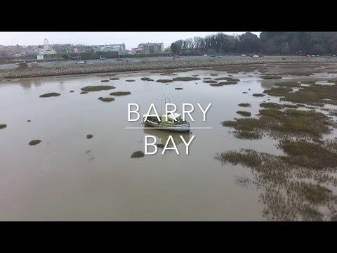 Places To Go In Wales - Barry Bay & Broken Boats