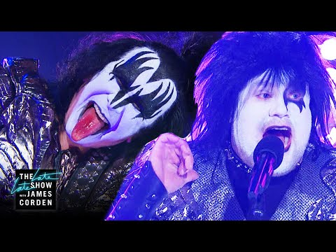 Middle-Aged James Can't 'Rock and Roll All Nite' with KISS