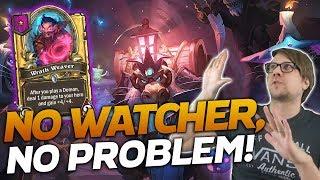 No Floating Watcher, NO PROBLEM! | Hearthstone Battlegrounds | Savjz