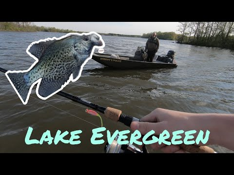 Evergreen Lake Fishing With My Dog! (Game Warden Visit)