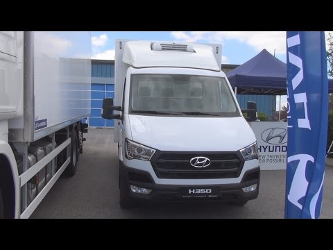 Hyundai H350 170 eVGT Refrigerated Truck 2016 Exterior and Interior in 3D