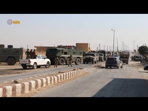Российские военные заняли бывшую военную базу США в сирийском Айн Исса
