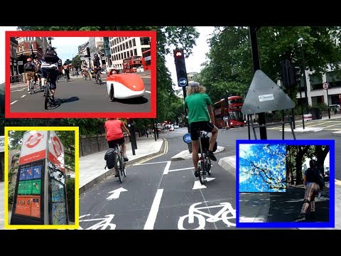 London Cycle Ride with Lucia Quenya