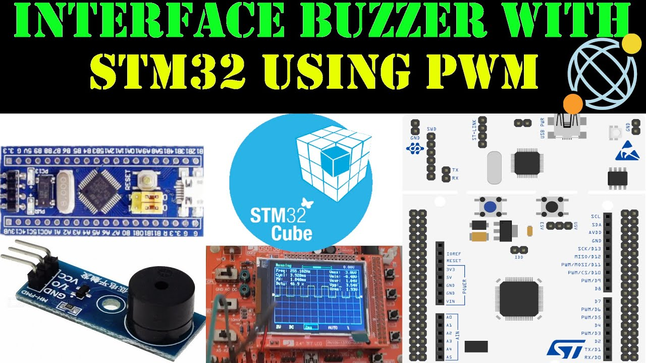 How to Interface buzzer with STM32 || PWM || HAL || CubeMx