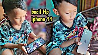 Beliin bocil Hp iphone 11 buat main Ep ep bukan untuk belajar