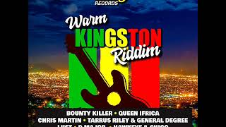 Gambar cover Warm Kingston Riddim Mix (Full) feat. Tarrus Riley, Chris Martin, Queen Ifrica (January 2019)
