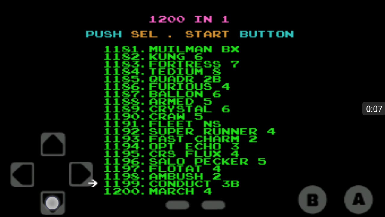 nes 1200 games in 1 apkpure