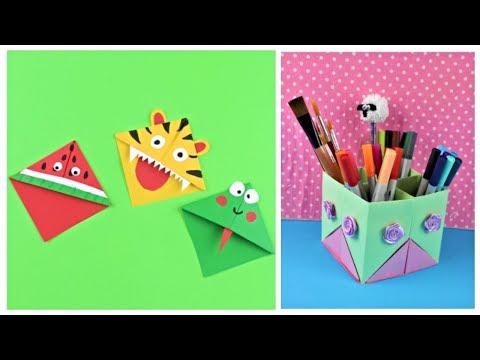 DIY School Supplies _ Easy DIY Paper Crafts ideas