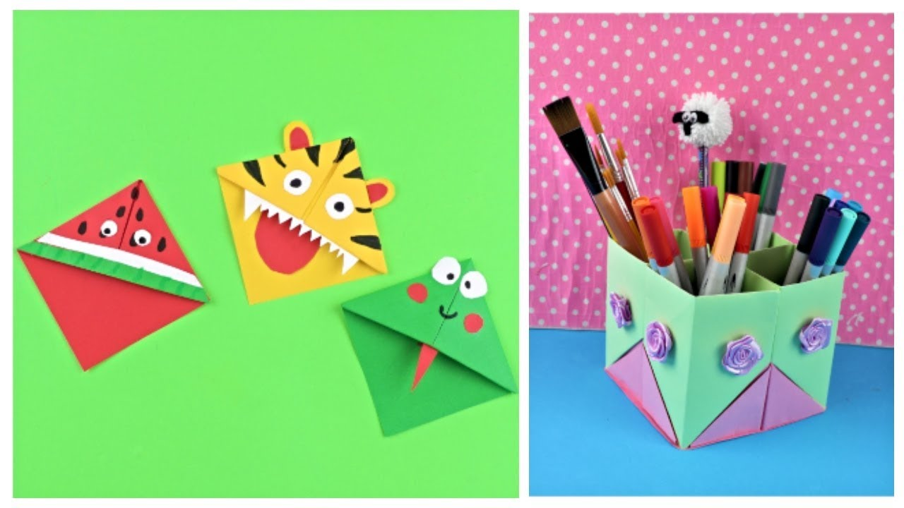 Diy School Supplies Easy Diy Paper Crafts Ideas