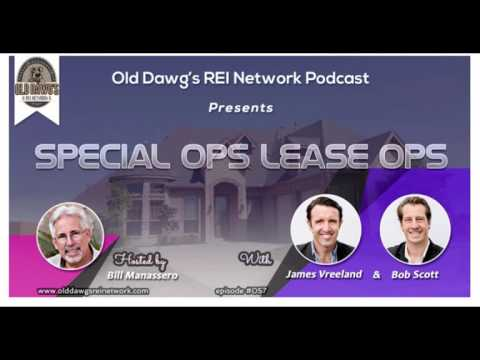 Lease Options Podcast interview on the Old Dawgs RIE Network