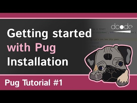 Pug (Jade) Tutorial #1 - Getting Started | HTML + NodeJS