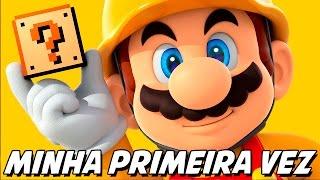 Mario Maker – Minha Primeira Vez!