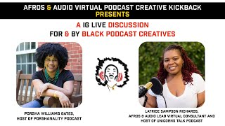 Afros & Audio IG Live - March 10, 2021