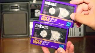 MAXELL-Аудио кассеты.Новая находка. Обзор и распаковка.