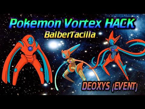 Hack para el evento DEOXYS | pokemon vortex 2017...