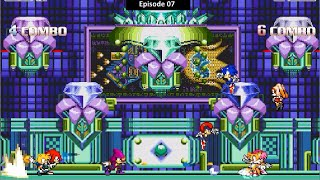 [Sonic Mugen 07] Team Sonic Freedom Fighter Vs Team Knuckles Chaotix