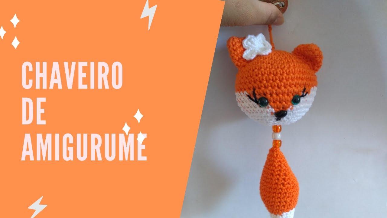 Raposa! Amigurumi fox – Cacarecos Craft por Cla Batu | 720x1280