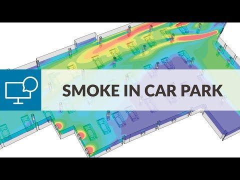 Ventilation System Design Study for Smoke Management with CFD