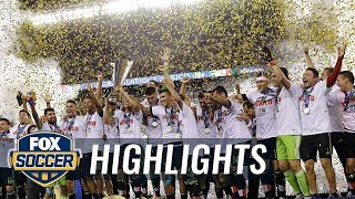 Mexico lifts 2015 Gold Cup trophy - 2015 CONCACAF Gold Cup Highlights