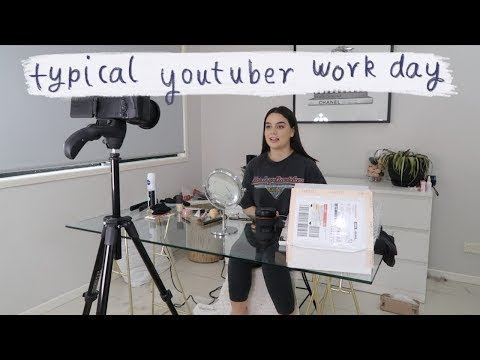 Typical Work Day For a Full Time YouTuber