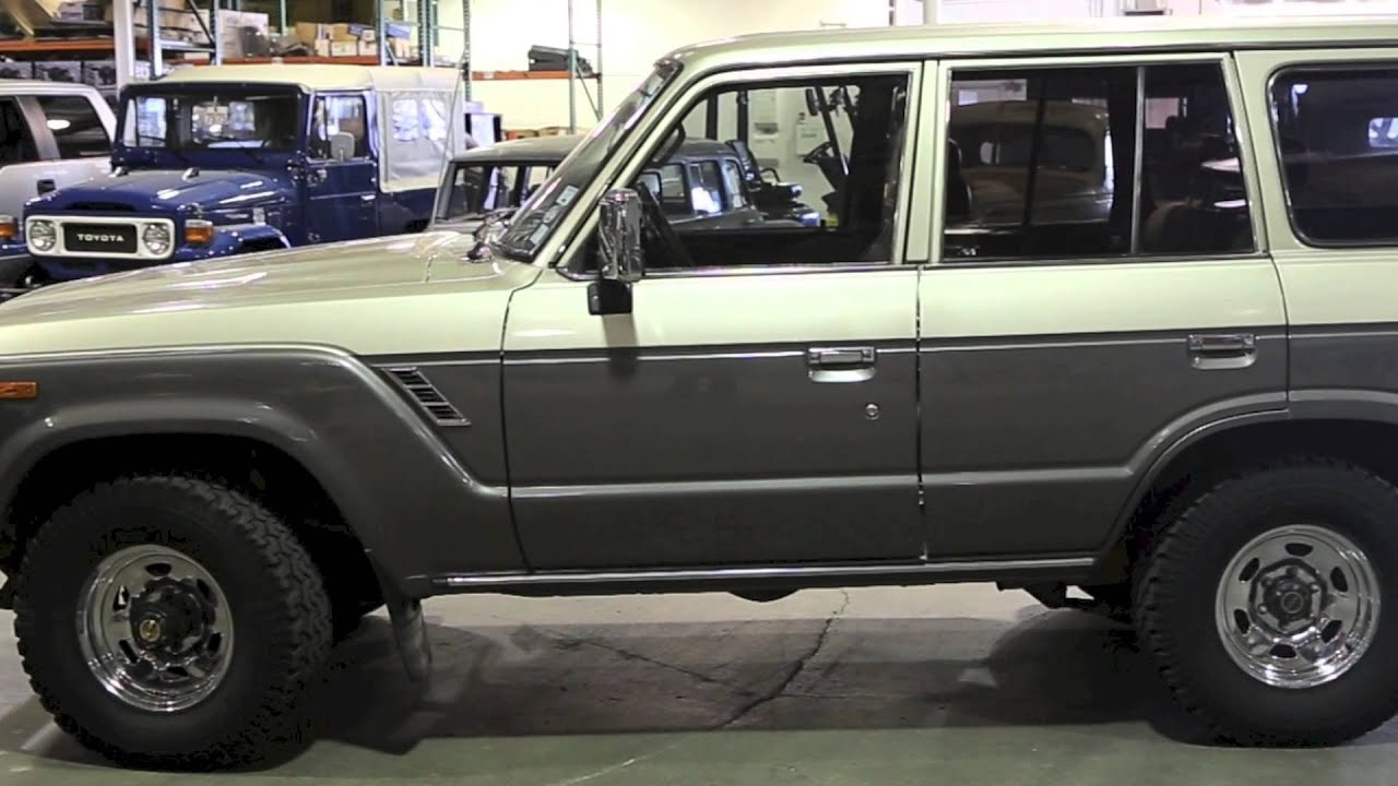 1988 toyota land cruiser fj62 for sale at tlc youtube. Black Bedroom Furniture Sets. Home Design Ideas