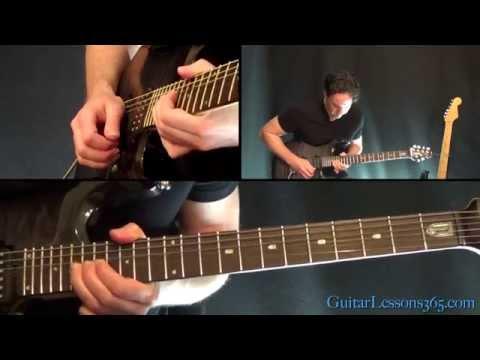 World on Fire Guitar Lesson – Slash – Main Solo