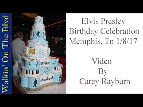 Elvis Presley's 82nd Birthday Celebration Proclamation Ceremony Jan 8 2017 Graceland