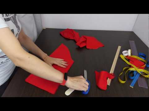 кроим РУКАВ сразу на ткани. Моя методика построения рукава