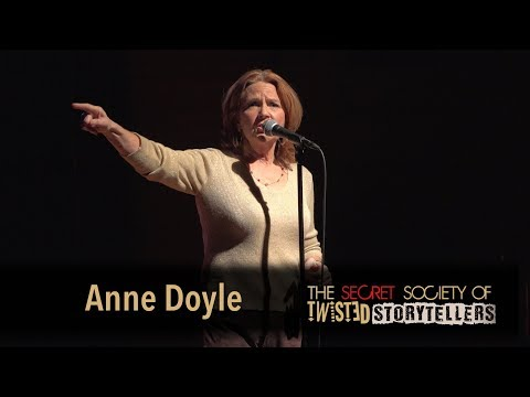 "The Secret Society Of Twisted Storytellers -""JUSTICE & GRACE!""- Anne Doyle"