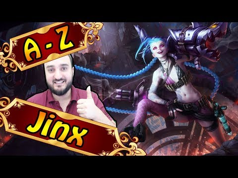 AZ JINX , ab 3 Items heftig stark meine Empfehlung  League of Legends
