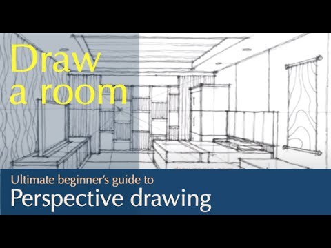 sketching interior (a living room) - YouTube