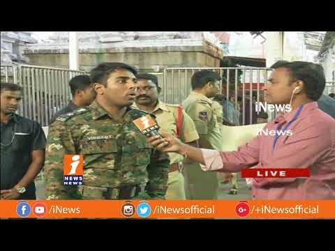 SP Viswajith Face To Face On Maha Shivaratri Arrangements At Sri Rajarajeswari Temple| iNews