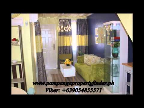 rent to own house and lot in pampanga Fiesta calulot san fernando duplex 2 br
