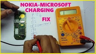 HOW TO REPAIRING NOKIA-MICROSOFT MOBILE CHARGING NOT WORKING PROBLEM AND SOLUTION HINDI LEC-19