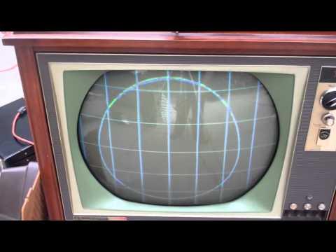 RCA CTC12 Color Tube Television CTC-12 TV