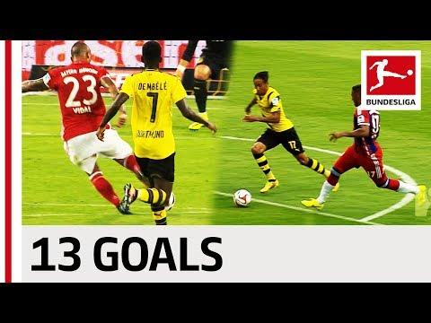 Bayern München vs. Borussia Dortmund - All DFL Supercup Goals Mp3