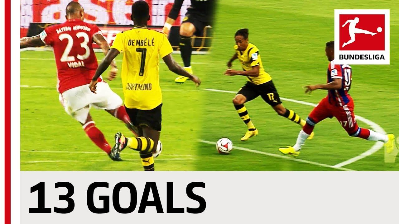 Bayern München vs. Borussia Dortmund - All DFL Supercup ...