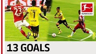 Bayern München vs. Borussia Dortmund - All DFL Supercup Goals