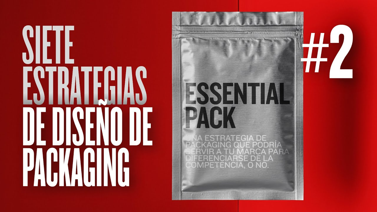 PACKAGING 📦 Estrategia de diseño Nº 2 - Essential Pack