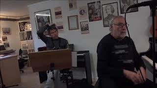 """Répétition concert """"Aznavour et le jazz"""""""