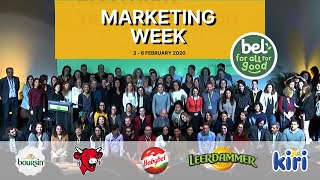 Upgrade Agency : Marketing Week du Groupe BEL - Février 2020