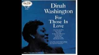 Watch Dinah Washington You Dont Know What Love Is video
