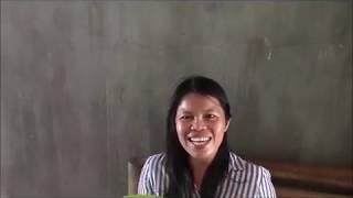 Marife Eats A Healthy Snack Plus Start Caulking Philippines Expat Foreigner