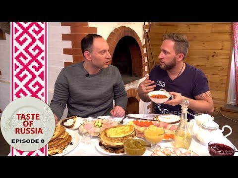 'Blini' bonanza: Making real Russian pancakes in a real a Russian stove - Taste of Russia Ep.8
