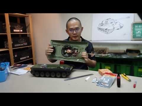 How to do the RC Tank Hull magnets conversion